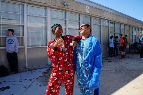 Spirit week starts with laughter