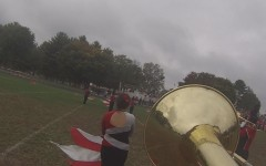 Marching band rocks homecoming
