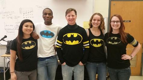 Batman shirts celebrate birthday