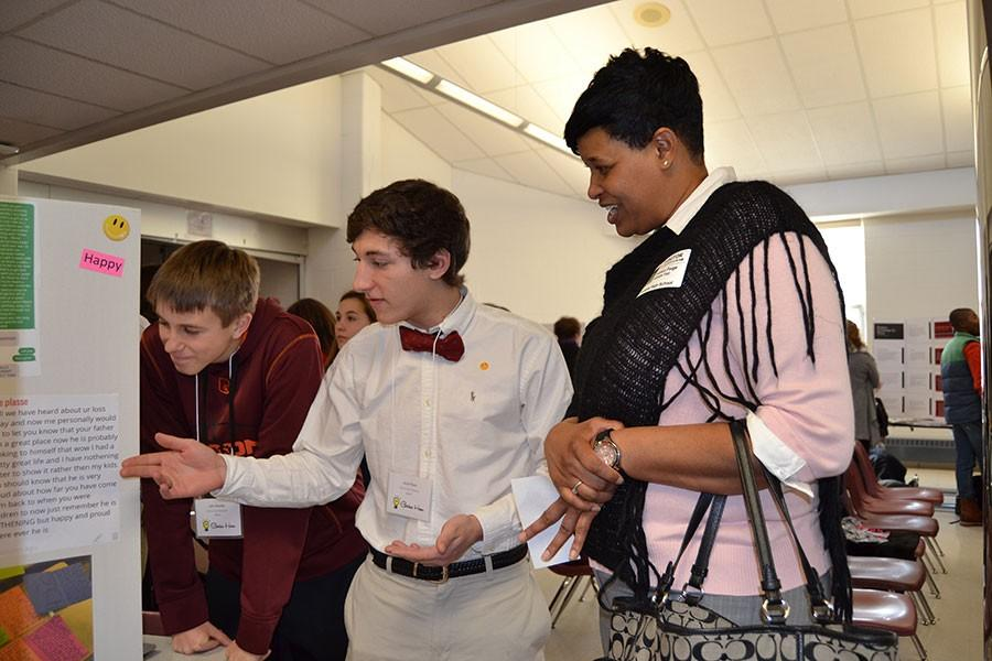 Students innovate at Genius Day