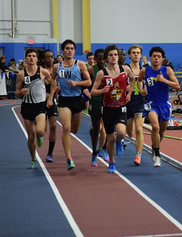 Walz and Meek outpace competition at states