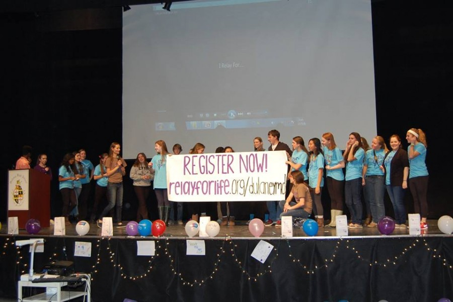 School gears up for first Relay For Life event