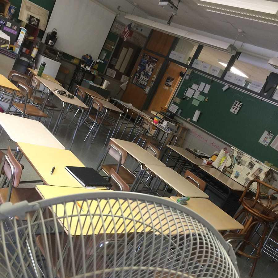 Exams continue amid heat wave