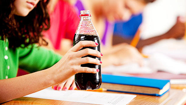 Sugary sodas in school spark sinister side effects
