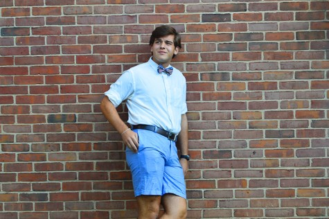 Runner reflects on love of bow ties