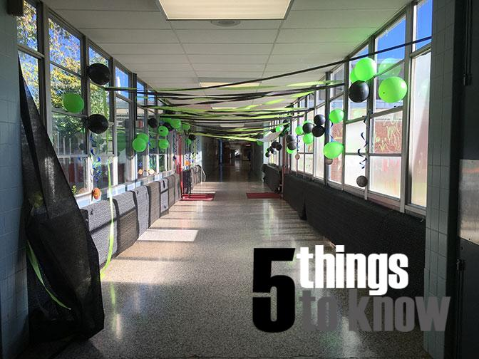 5 Things to Know: Week of Oct. 5