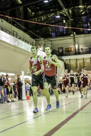Cross country, indoor track programs win honors