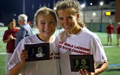 Girls lacrosse team assesses state championship victory