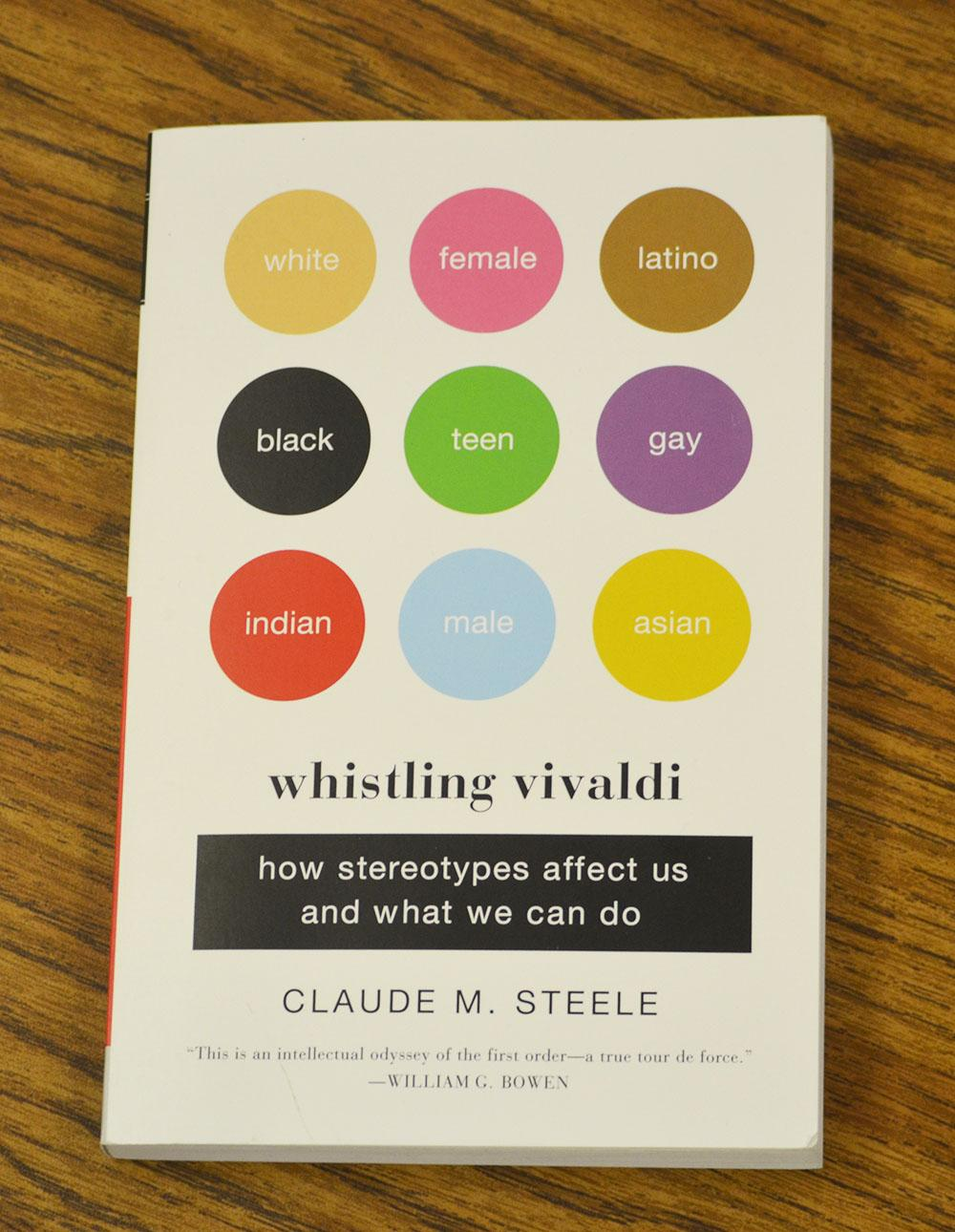 "Teachers had the option to participate in online discussions after reading chapters of ""Whistling Vivaldi"" by Claude M. Steele."