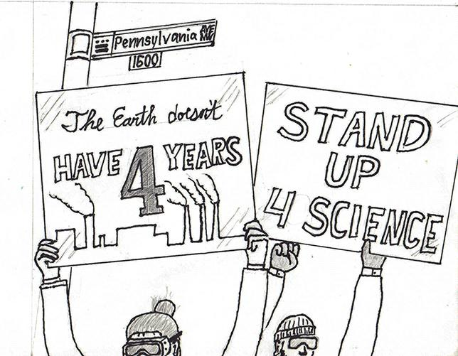 Image result for March for Science cartoon