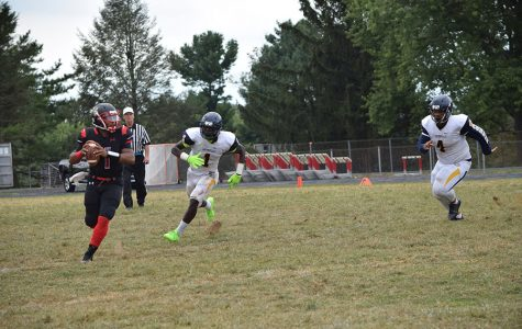 Quarterback vies for national athlete of the week