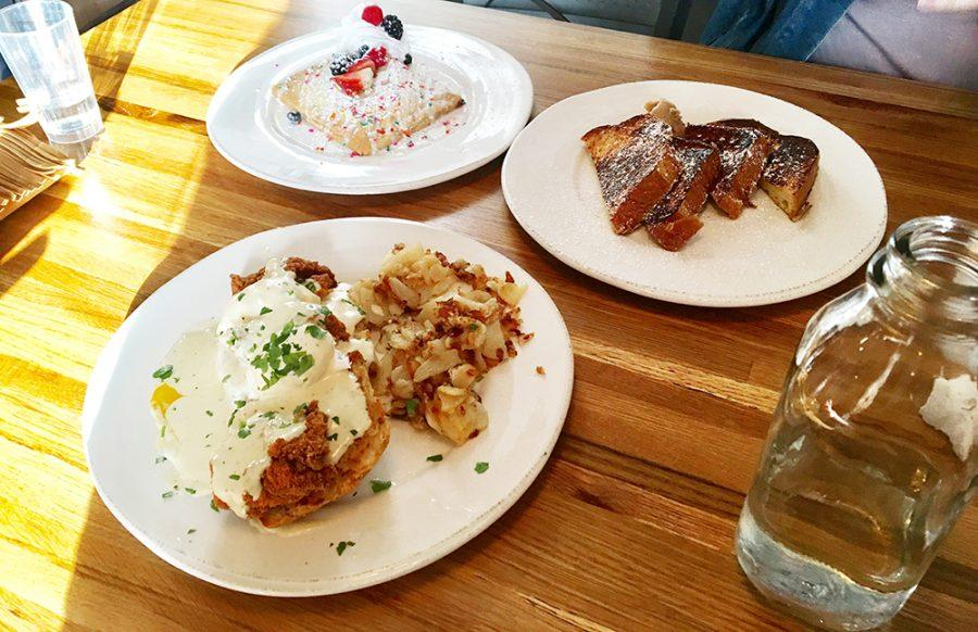 %28From+left+to+right%29+Housemade+Pop-tart%2C+Fried+Chicken+eggs+benedict%2C+challah+french+toast