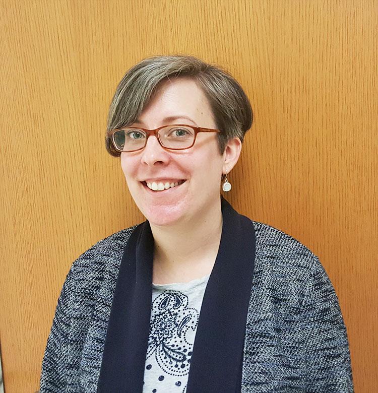 Psychology teacher Kendra Swam