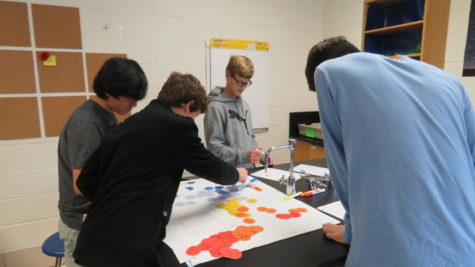 scene at dulaney: New Earth Science room impresses