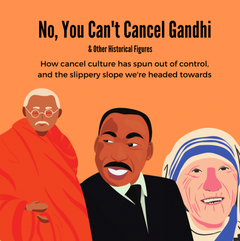 No, You Can't Cancel Gandhi
